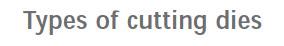 Cutting die3