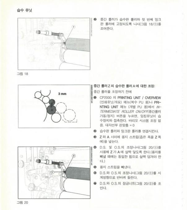 인쇄 메뉴얼 댐프닝 롤라 6