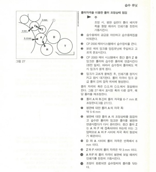 인쇄 메뉴얼 댐프닝 롤라 9